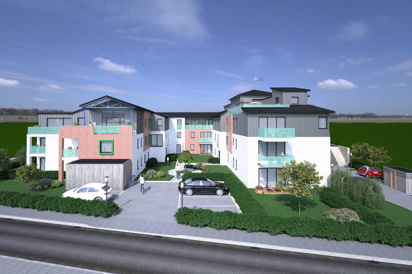 Mehrfamilienhaus für exklusives Wohnen in Winsen Aller